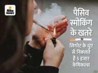 सिगरेट जलाने पर निकलते हैं 5000 केमिकल, न पीने वालों की सेहत पर भारी पड़ रही सेकेंड हैंड और थर्ड हैंड स्मोकिंग|हेल्थ एंड फिटनेस,Health & Fitness - Money Bhaskar