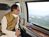 झांसी... ATC ने लैंडिंग की अनुमति नहीं होने के कारण 15 मिनट तक नहीं उतरने दिया|झांसी,Jhansi - Money Bhaskar