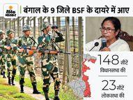 अब ममता की पुलिस से परमिशन लिए बगैर कोलकाता के मुहाने तक एक्शन ले सकेगी BSF, जद में 148 सीटें|DB ओरिजिनल,DB Original - Money Bhaskar