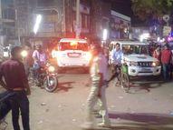 दुर्गा पूजा के मेले में लड़की से छेड़छाड़ पर फायरिंग; 2 लोग घायल, PMCH रेफर पटना,Patna - Money Bhaskar