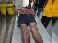 बड़े भाई से झगड़े का बदला छोटे भाई ने लिया, कार में सवार होकर आया और मार दी गोली, हालत गंभीर ग्वालियर,Gwalior - Money Bhaskar