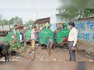 एसएलआरएम सेंटर में नहीं बन रहा खाद, अल्टीमेटम|भिलाई,Bhilai - Money Bhaskar