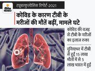 पिछले 10 सालों में टीबी से सबसे ज्यादा 15 लाख मौतें 2020 में हुईं, वजह; कोविड के कारण रुका इलाज लाइफ & साइंस,Happy Life - Money Bhaskar