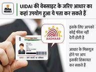 कहीं आपके आधार कार्ड का गलत इस्तेमाल तो नहीं हो रहा है, घर बैठे आसानी से कर सकते हैं चेक|पर्सनल फाइनेंस,Personal Finance - Money Bhaskar