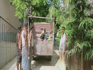 बलान नदी में दोस्तों के साथ नहाने गया था बच्चा, पैर फिसलने से गहरे पानी में डूबा बेगूसराय,Begusarai - Money Bhaskar