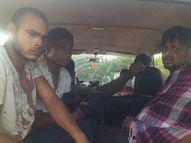 राजनांदगांव में लुटेरों ने गार्डों को रॉड-तलवार से मारा, फिर हड़बड़ी में खाली कैश पेटी लेकर भागे|छत्तीसगढ़,Chhattisgarh - Money Bhaskar