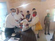 डीएम ने 10 प्रगतिशील किसानों को दी मिनी किट, वैज्ञानिक विधि से खेती करने पर दिया जोर|चित्रकूट,Chitrakoot - Money Bhaskar