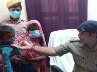 मिर्जापुर में शराब के नशे में मेले में छोड़ आया, 17 घंटे बाद पुलिस ने बरामद किया|मिर्जापुर,Mirzapur - Money Bhaskar