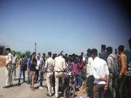 जबलपुर में दो बाइक की टक्कर में दंपती घायल, अस्पताल पहुंचने से पहले पति की मौत जबलपुर,Jabalpur - Money Bhaskar