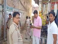 टीम को देखते ही तीनों दबंगों ने शुरू कर दी फायरिंग, एक सिपाही और एक आरोपी को लगी गोली|बुलंदशहर,Bulandshahr - Money Bhaskar