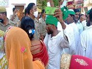 पीएम व सीएम का पुतला फूंकने वाले थे प्रदर्शनकारी, किसान नेता के घर के बाहर प्रशासन ने लगवाया पहरा|बहराइच,Bahraich - Money Bhaskar