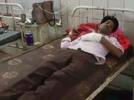 पहले हाथापाई की फिर भी युवक ने मोबाइल नहीं छोड़ा तो बदमाश ने मार दी गोली मध्य प्रदेश,Madhya Pradesh - Money Bhaskar