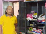 थाने से 100 कदम दूर एक मकान से 4 लाख के सोना, चांदी के आभूषण चुरा ले गए बदमाश मध्य प्रदेश,Madhya Pradesh - Money Bhaskar