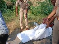 बाइक से जा रही दंपत्ति को मारी टक्कर, लोगों ने आरोपी को पकड़कर किया पुलिस के हवाले|जालौन,Jalaun - Money Bhaskar