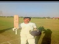 माधव ने लगाया दाेहरा शतक, 22 चौके और पांच छक्के मारकर बनाए 207 रन|होशंगाबाद,Hoshangabad - Money Bhaskar