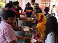 लोगों को अलग-अलग दिन दिया गया खीर, खिचड़ी और पूड़ी-सब्जी-बुंदिया का प्रसाद पटना,Patna - Money Bhaskar
