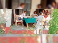 हत्यारोपी के बुलाने पर पहुंचे एसआई भीमसेन ने पीड़ित परिवार के परिजनों की कर दी पिटाई|बेतिया (पश्चिमी चंपारण),Bettiah (West Champaran) - Money Bhaskar