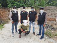 भिवानी के पत्थर कारोबारी से 7 लाख की रंगदारी मांगने वाले बदमाश को 5 दिन में पकड़ा|रोहतक,Rohtak - Money Bhaskar