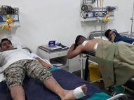 9 एमएम की कार्बाइन में राउंड भरते समय हादसा, एक साथ 4 राउंड फायर, 4 जवान घायल|होशंगाबाद,Hoshangabad - Money Bhaskar