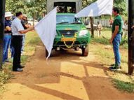रातापानी देश की पहली सेंचुरी जहां टाइगर रिजर्व जैसी सफारी, 36 किलोमीटर के ट्रैक पर रोज सिर्फ 25 गाड़ियों को ही एंट्री|भोपाल,Bhopal - Money Bhaskar
