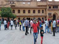 अपने मेहमानों से गुलजार हो रहे राजस्थान के महल, बावड़ी-चौबारे; अब विदेशी पावणों के स्वागत की तैयारी|जयपुर,Jaipur - Money Bhaskar