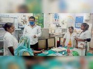 औचक निरीक्षण में बेतरतीब मिला अनुमंडल अस्पताल का प्रसव कक्ष, कहा- नहीं हुआ सुधार तो कार्रवाई तय|बेतिया (पश्चिमी चंपारण),Bettiah (West Champaran) - Money Bhaskar