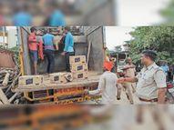 पंचायत चुनाव के लिए मंगाई गई 80 लाख की शराब ~5.38 लाख जब्त, मुखिया प्रत्याशी समेत 7 गिरफ्तार|दरभंगा,Darbhanga - Money Bhaskar