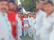 युवा जदयूू के प्रदेश अध्यक्ष अंकित तिवारी का स्वागत|दरभंगा,Darbhanga - Money Bhaskar