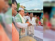 पॉलिटेक्निक चौक पर पूर्व मंत्री फातमी का स्वागत|दरभंगा,Darbhanga - Money Bhaskar