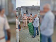 भाइयों के विवाद में बम से किया हमला, दो जख्मी|मोतिहारी (पूर्वी चंपारण),Motihari (East Champaran) - Money Bhaskar