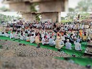 लखीमपुर घटना के विरोध में जिले में 6 घंटे के लिए 4 जगह ट्रैक पर धरना रोपड़ (रूपनगर),Ropar (Rupnagar) - Money Bhaskar
