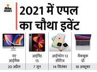 M1X चिप के साथ नए मैकबुक प्रो लॉन्च होंगे, इससे स्पीड और ग्राफिक्स बेहतर हो जाएंगे; एयरपॉड 3 लॉन्च होने की भी चर्चा|बिजनेस,Business - Money Bhaskar