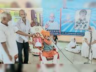 साढ़े छह वर्ष के तपस्वी का अभिनंदन किया|राजलदेसर,Rajaldesar - Money Bhaskar
