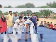 जूडो में सपना व कुश्ती में रामनिवास ने जीता पहला मैच|सरदारशहर,Sardarshar - Money Bhaskar