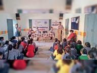 विधिक साक्षरता शिविर में बच्चों को दी उनके अधिकार व कानून की जानकारी|चूरू,Churu - Money Bhaskar