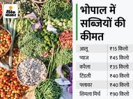 टमाटर 60 रुपए किलो, प्याज 50 रुपए किलो, 10 दिन बाद कीमतों में आ सकती है कमी|इकोनॉमी,Economy - Money Bhaskar