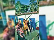 प्रतिमा विसर्जन के दौरान हर्ष फायरिंग मामले में केस सुपौल,Supaul - Money Bhaskar