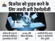 भारत की टॉप 4 आईटी कंपनियों ने हायरिंग टारगेट को दोगुना किया, FY22 में 1.6 लाख फ्रेशर्स की भर्ती करेगी|बिजनेस,Business - Money Bhaskar