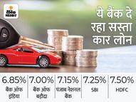 SBI और बैंक ऑफ इंडिया सहित कई बैंक दे रहे सस्ता कार लोन, प्रोसेसिंग फीस पर भी मिल रही छूट|कंज्यूमर,Consumer - Money Bhaskar