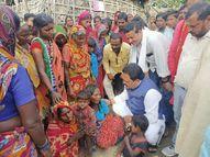 कश्मीर में आतंकियों की गोली के शिकार मजदूरों के परिवार से मिले अररिया सांसद, दी 21 हजार रुपए की सहायता राशि अररिया,Araria - Money Bhaskar