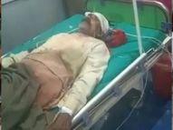 एक शख्स की मौके पर ही गई जान, चचेरे भाई समेत 3 घायल खगरिया,Khagaria - Money Bhaskar