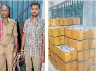 पिअर इलाके से 30 लाख की 274 कार्टन विदेशी शराब जब्त, एक धंधेबाज गिरफ्तार|मुजफ्फरपुर,Muzaffarpur - Money Bhaskar