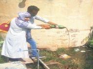 सर्वे में जिले में बुखार से 13872 पीड़ित मरीज सामने आए|झुंझुनूं,Jhunjhunu - Money Bhaskar