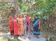 श्रीरामपुर में कागज पर नल-जल याेजना पूरी, लेकिन लाेगाें काे नहीं मिल रहा पानी|दरभंगा,Darbhanga - Money Bhaskar