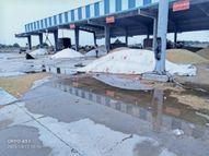 अनाज मंडी में बरसात से भीगा 20 हजार क्विंटल धान, दो हजार क्विंटल से अधिक पीआर भी भीगी|सोनीपत,Sonipat - Money Bhaskar