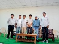 विद्यार्थियों को 200 साल के कैलेंडर व गणित के सवालों के जवाब दे चौंकाया|सुजानगढ़,Sujangarh - Money Bhaskar