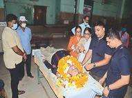 बेटों ने सेवानिवृत बैंक मैनेजर पिता की इच्छा का किया सम्मान, मौत के बाद उनकी देहदान की|ग्वालियर,Gwalior - Money Bhaskar