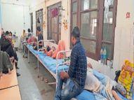 जांच के लिए केवल बीडीके में एक मशीन, सभी सैंपल यहीं आते हैं, रिपोर्ट आने में लगते हैं दो से 3 दिन|झुंझुनूं,Jhunjhunu - Money Bhaskar