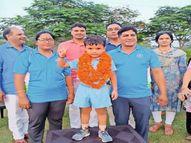 सवा तीन साल के सत्यम देश के सबसे कम उम्र के धावक बने, महज 5 मिनट में पूरी की 900 मीटर की दौड़|झुंझुनूं,Jhunjhunu - Money Bhaskar