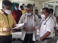 मेडिकल कॉलेज के प्रिंसिपल और अधीक्षक ने अस्पताल में खुद कराई जांच तो आया 50 हजार का अंतर|चूरू,Churu - Money Bhaskar